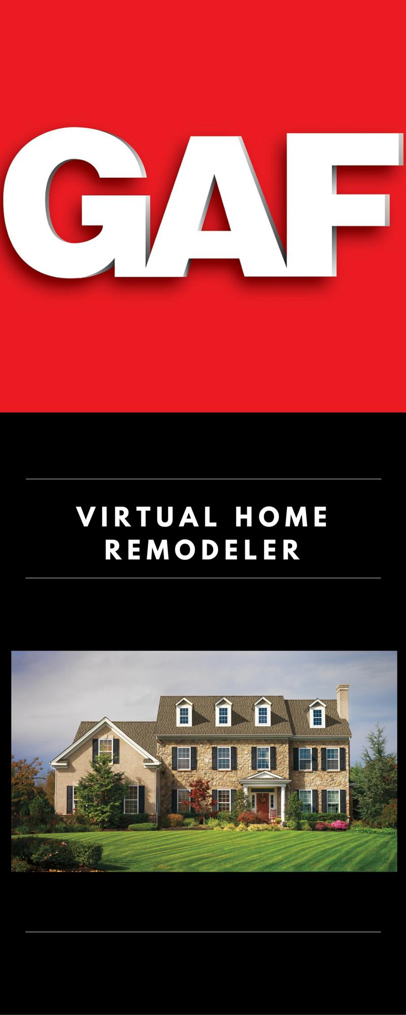 GAF Virtual Home Remodeler